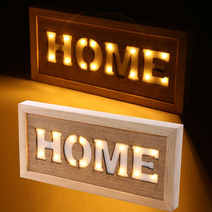 LED home wall sign