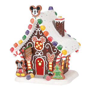 Disney Village by D56 - Mickey Mouse's Gingerbread House