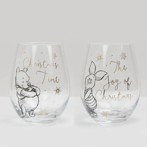 Disney Set of 2 Glasses - Pooh & Piglet