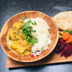 Veggie Curry and Rice