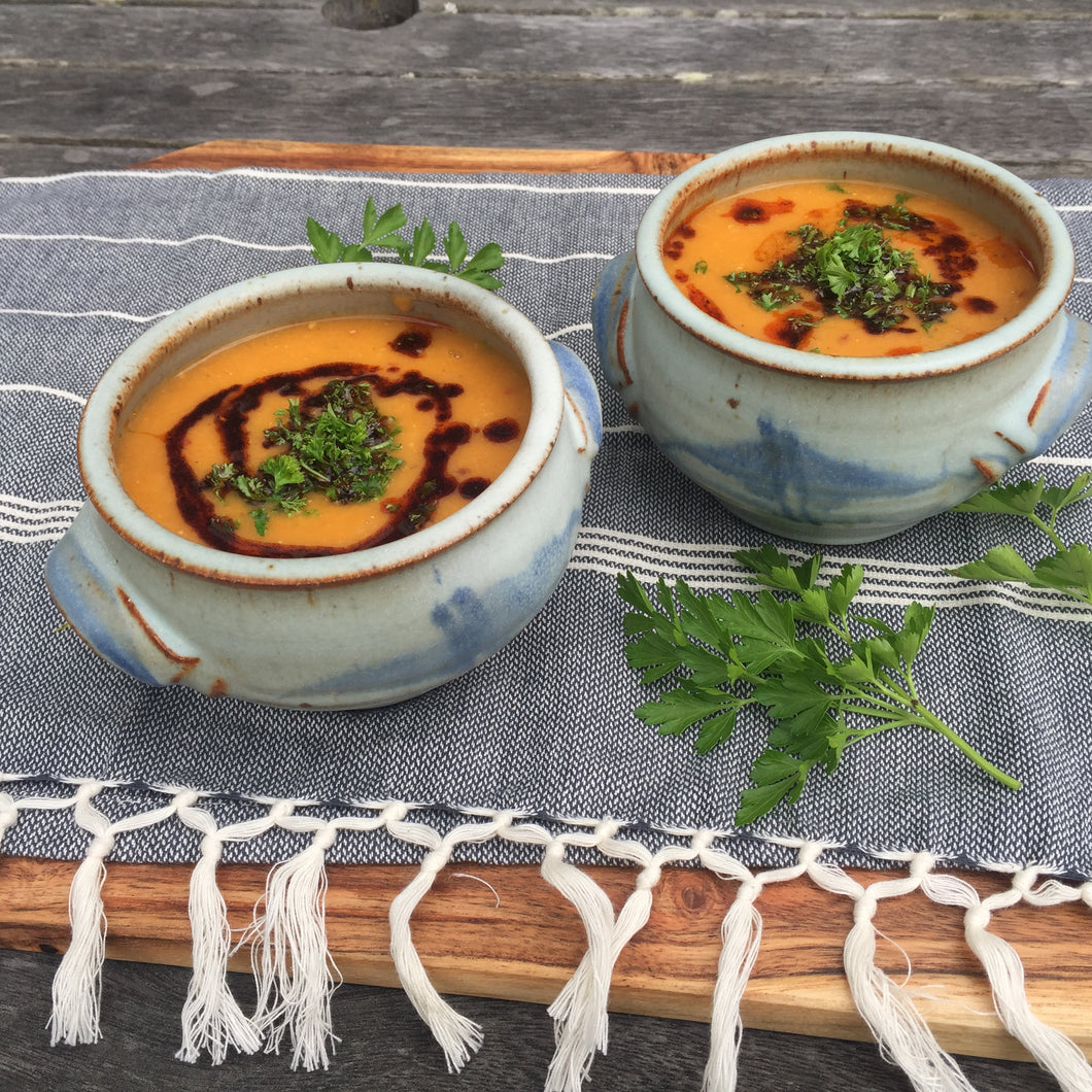 Turkish Style Red Lentil Soup