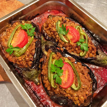 Load image into Gallery viewer, Mediterranean Stuffed Eggplant
