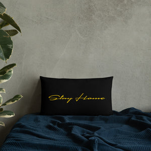 Stay Cozy, Stay Home Pillow
