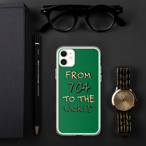 From 704 to the World iPhone Case