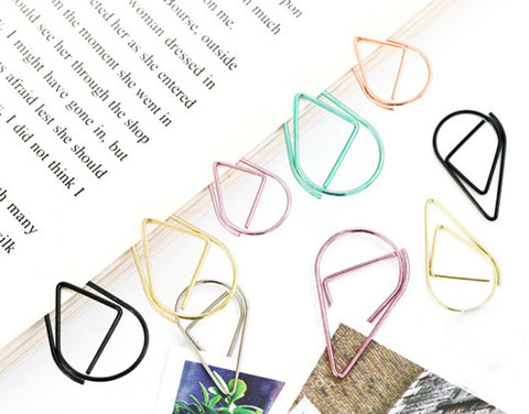 paper clip and bookmark