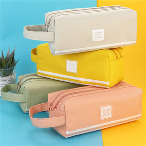 Pastel Color Large Pencil Case - The Stationery Booth