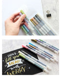 STA Metallic Markers - 10 Set - The Stationery Booth