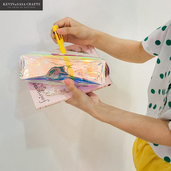 Holographic Pencil Case - The Stationery Booth