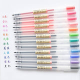 Muji Gel Pens - 12 Set - The Stationery Booth