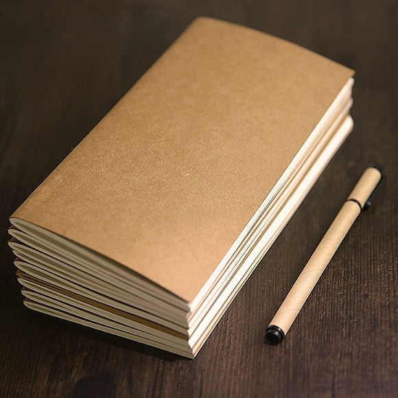 Kraft Paper Traveler Notebook - The Stationery Booth