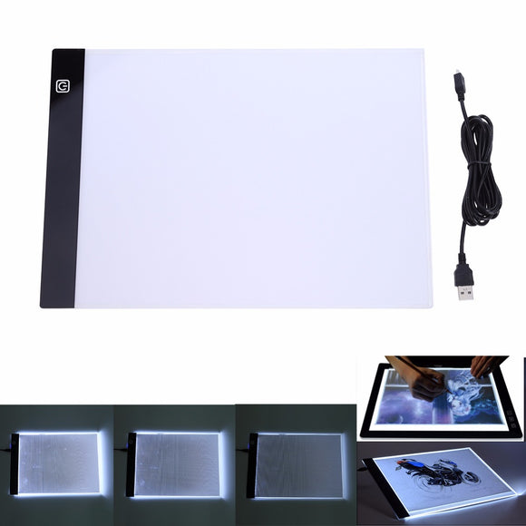 Sketch Pad LED Tracing Table - The Stationery Booth