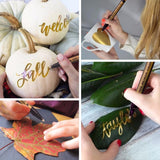 Metallic Permanent Paint Markers - The Stationery Booth