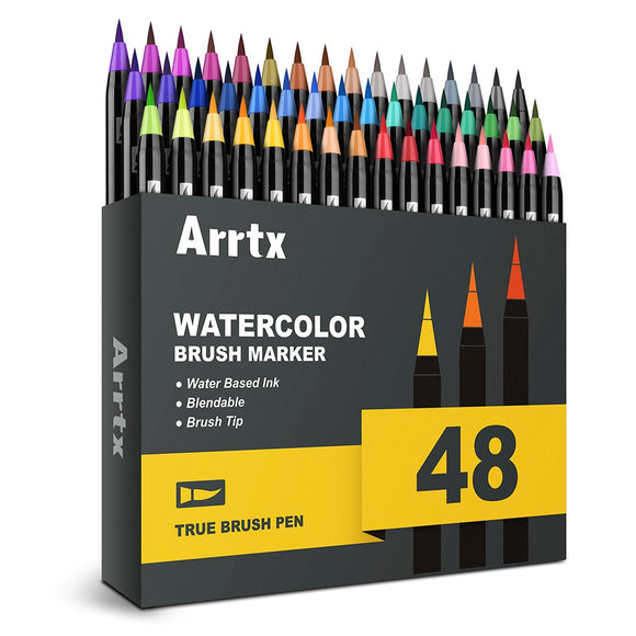 Arrtx Watercolor Brush Pen Set - The Stationery Booth