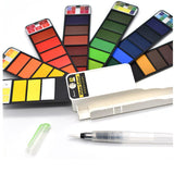 Nomad Portable Watercolor Kit - The Stationery Booth