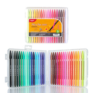 Felt Tip Pens - set of 36 colors - The Stationery Booth
