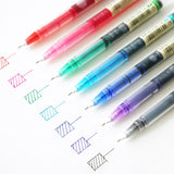 0.5mm Needle Point Liquid Gel Pen - set of 7 colors - The Stationery Booth