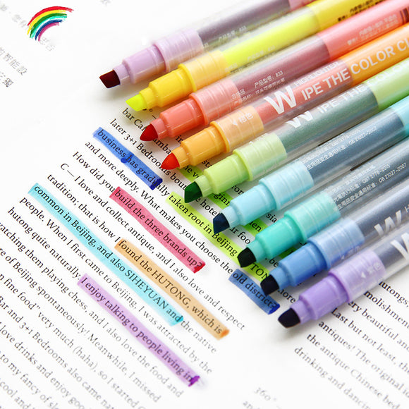 Erasable Highlighter Set - The Stationery Booth
