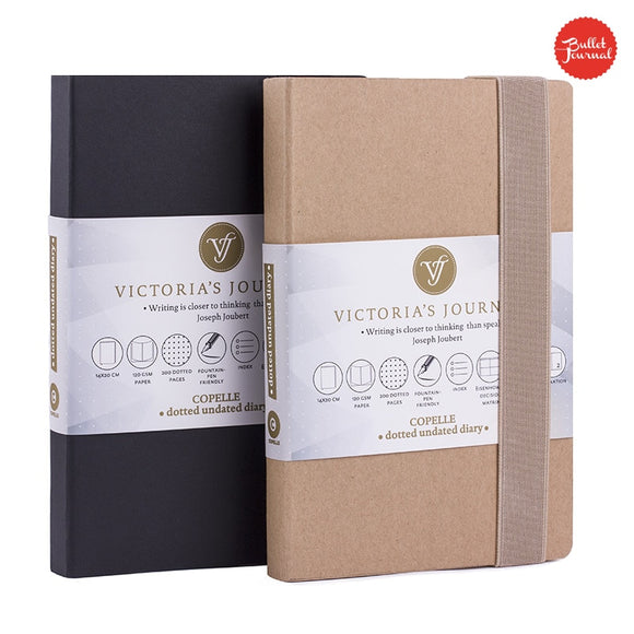 Victoria's Bullet Journal - The Stationery Booth
