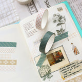 Chic Basic Pattern Washi Tape - set of 5 - The Stationery Booth