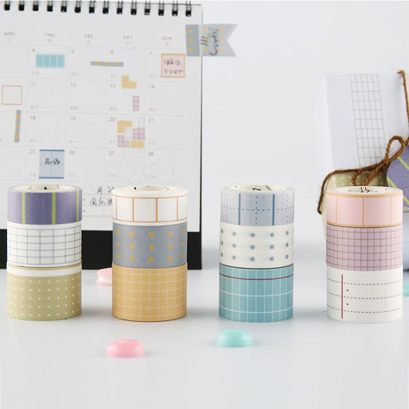 Geometric Pattern Washi Tape - The Stationery Booth