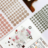 Chic Daily Dot Planner Stickers - The Stationery Booth