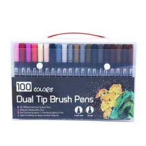 Dual Tip Brush Pens - The Stationery Booth