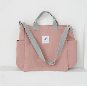 Canvas Shoulder Bag - The Stationery Booth
