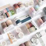 Scrapbook Washi Tape Set - set of 10 - The Stationery Booth