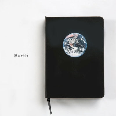 Out-Of-This-World Black Notebooks - The Stationery Booth