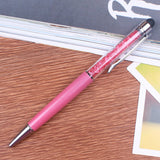 2-in-1 Rhinestone Ballpoint Ink Pen and Stylus - The Stationery Booth