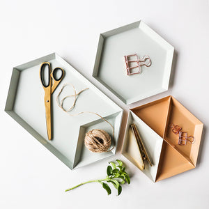 Scandinavian Storage Trays - set of 4 - The Stationery Booth