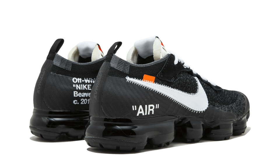 OFF WHITE X NIKE AIR MAX VAPORMAX 2.0 THE TEN (BLACK AND