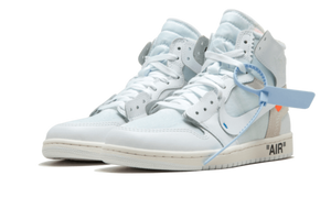 NIKE AIR JORDAN 1 X OFF-WHITE (WHITE)