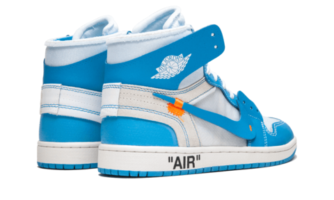 90be7608f74a95 NIKE AIR JORDAN 1 X OFF-WHITE (BLUE) – CornerKickz