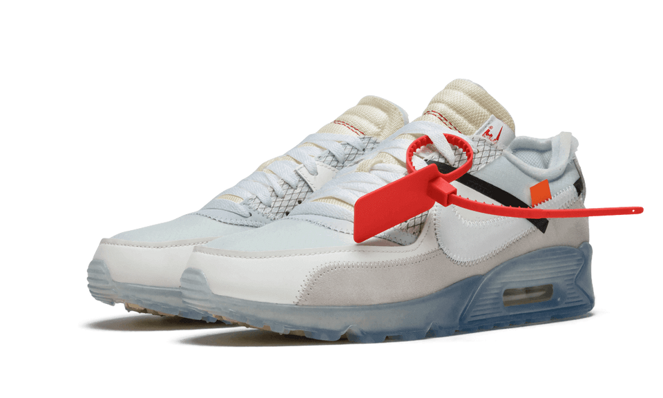 OFF WHITE X NIKE AIR MAX 90 (WHITE)