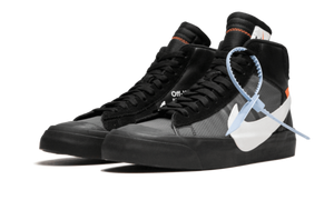 OFF-WHITE X NIKE BLAZER BLACK