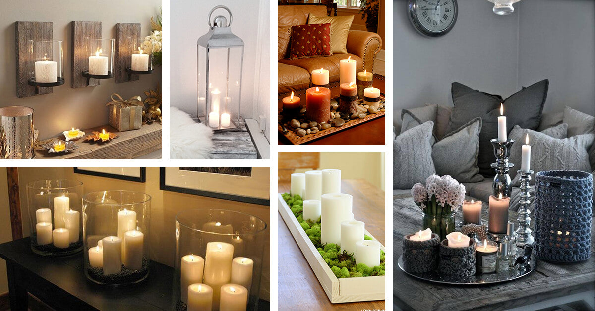 Tips to Remember While Decorating Your Home With Candles