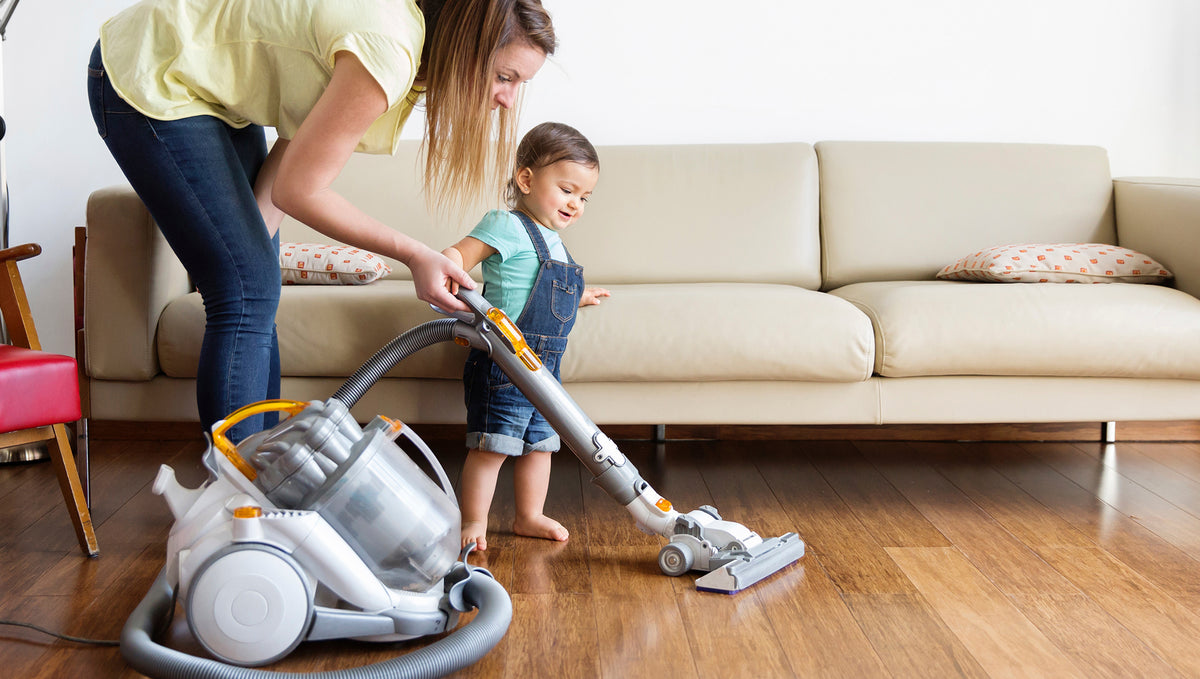 Vacuuming Towards A Cleaner Home