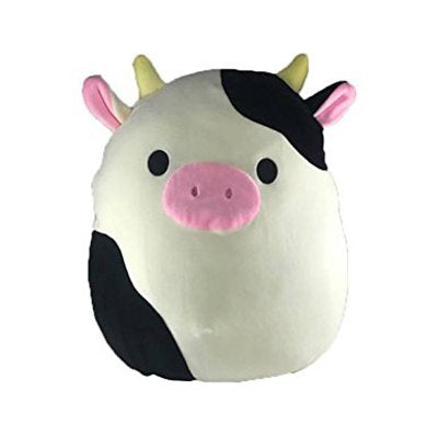"Kellytoy Squishmallow 16"" Connor The Cow Super Soft Plush Toy Pillow Pet Animal Pillow Pal Buddy Pal Buddy"