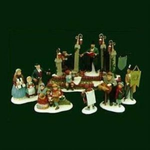 Department 56 Dickens Village Series, A Christmas Carol' Reading by Charles Dickens , Ltd Edition Set