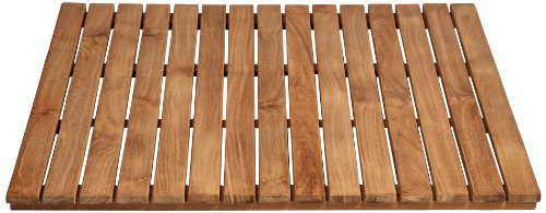 Arb Teak & Specialties Teak Shower Base Mat, 30 X 30 Inch