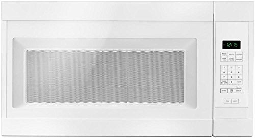 Amana AMV2307PFW 1.6CF Over The Range Microwave Oven 1000 Watts White