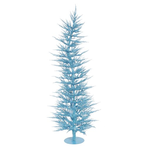 Vickerman Sky Blue Laser Christmas Tree