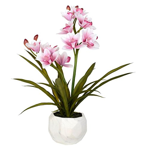 Vickerman FN180702 Pink Orchid Everyday Floral