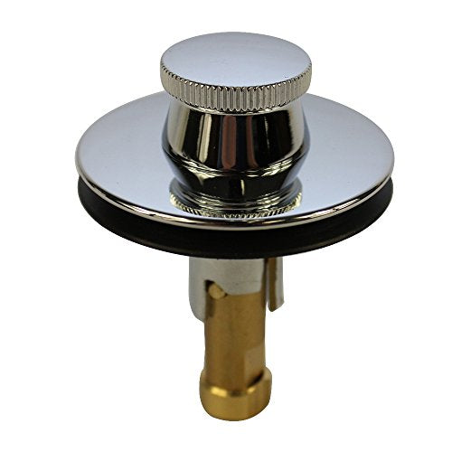 DANCO Lift and Turn Tub and Bath Drain Stopper, Chrome (88599)