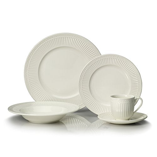 Mikasa Italian Countryside 40-Piece Dinnerware Set, Service for 8