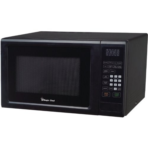Magic Chef MCM1110B Black Countertop Microwave 1.1 Cu ft 1000W W/Digital Touch Home & Garden