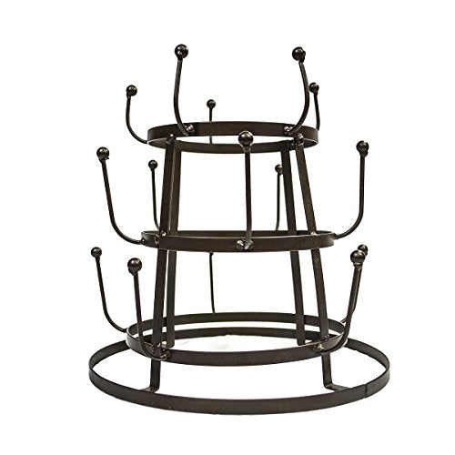 Sorbus Mug Holder Tree Organizer/Drying Rack Stand (Bronze)