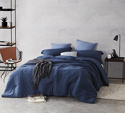 Byourbed Bare Bottom Comforter - Queen Bedding Nightfall Navy