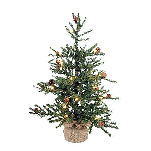 Vickerman Carmel Pine Christmas Tree